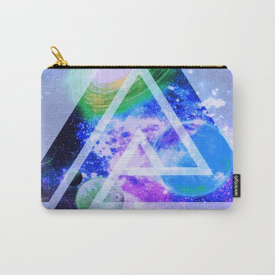 The purple space Carry-All Pouch