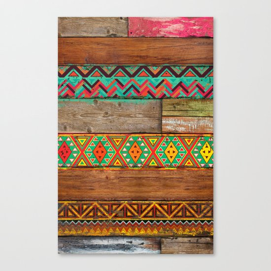 Indian Wood Canvas Print