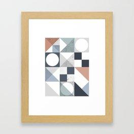 Modern Geometric 20 Framed Art Print