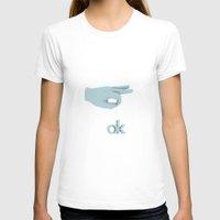 kim sy ok T-shirts featuring ok by Blackoptics8