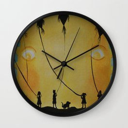 Papalotes (kites) Wall Clock