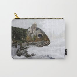 Waterfall Squirrel Carry-All Pouch