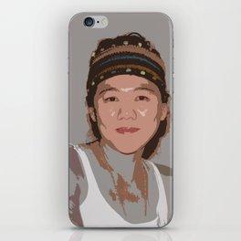 China Girl iPhone Skin