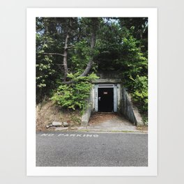 Fourth Cliff Bunker. Humarock, MA. Art Print