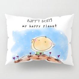 My Happy Planet Pillow Sham