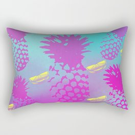 Pretty Pineapples 2 (Lemons) Rectangular Pillow