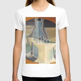 "Juan Gris ""Raisins, carafe et livre (Grapes, jug and book)"" T-shirt"