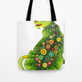 Jungle Cat Tote Bag