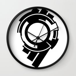 Ghost in the Shell - Symbol Wall Clock