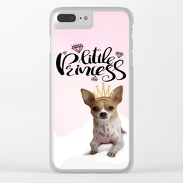 The Little Princess Clear iPhone Case