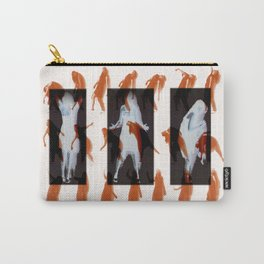 Orange dancer Carry-All Pouch