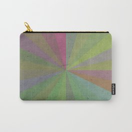 Radial Stripes - Earthy Colors Carry-All Pouch