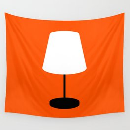 Lamp Wall Tapestry