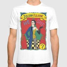 Julian/Julianne Mens Fitted Tee MEDIUM White