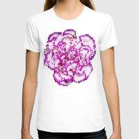 8bit T-shirts featuring 8BIT flower by Alfredo Lietor