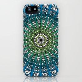 Harmonic Mandala iPhone Case
