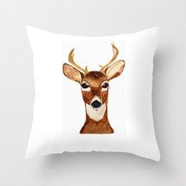 Like a Deer Throw Pillow