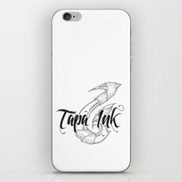 Tapa Ink - WHT iPhone Skin
