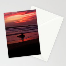 California Beach Sunset Stationery Cards