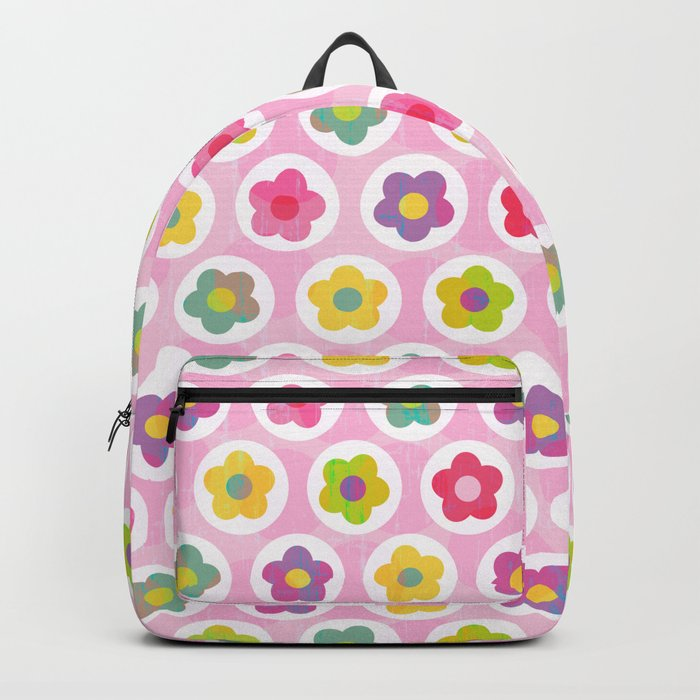 LAZY DAISY PINK Backpack