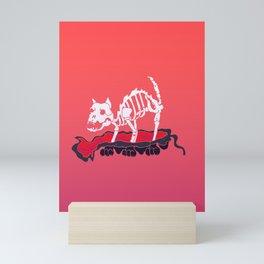 Cat Skin Mini Art Print