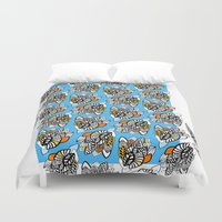 concert Duvet Covers featuring leaf opera concert by Indigo Images