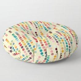 RetroDots Floor Pillow