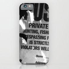 Trespassing iPhone 6s Slim Case