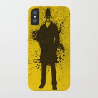 watchmen iPhone & iPod Cases featuring WATCHMEN - RORSCHACH (YELLOW EDITION) by Zorio