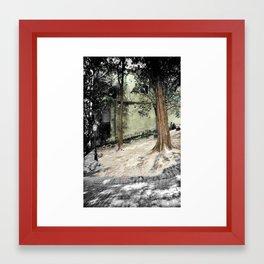 SUMMER AFTERNOON Framed Art Print