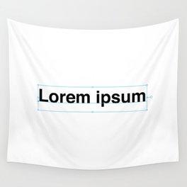 Lorem ipsum Wall Tapestry