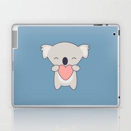 Kawaii Cute Koala With Heart Laptop & iPad Skin