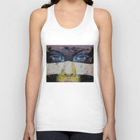 superhero Tank Tops featuring Superhero by Michael Creese