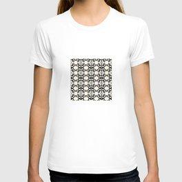 Namaste Symbol Abstract Pattern T-shirt