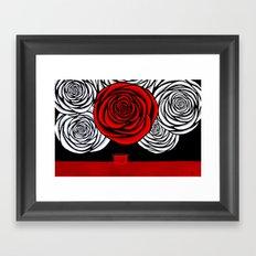 Heather's Rose Framed Art Print