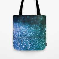 bisexual Tote Bags featuring Foam on the sea by Better HOME