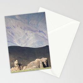Afternoon Light on the Alabama Hills Stationery Cards