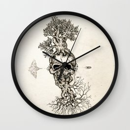 Life is fragile Wall Clock