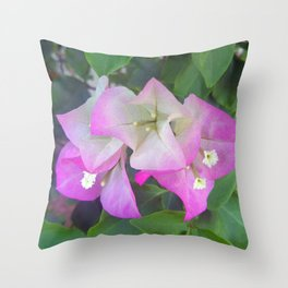 Soft Purples Throw Pillow
