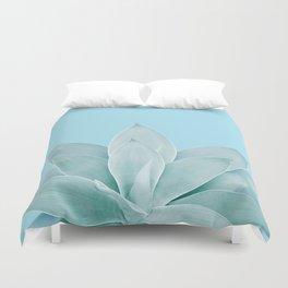 Light Blue Agave #1 #tropical #decor #art #society6 Duvet Cover