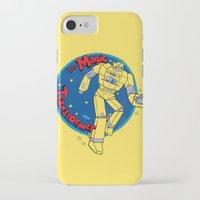 transformer iPhone & iPod Cases featuring The Magic Transformer by Skylar Hogan