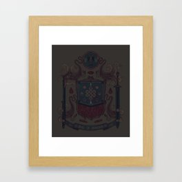 Born in Blood Framed Art Print