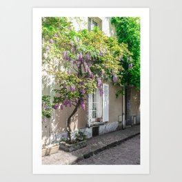 Rue des Thermopyles Paris, France Art Print