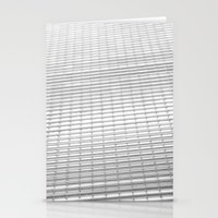 gray pattern Stationery Cards featuring Gray Pattern by theGalary