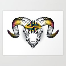 Aries - First of the Zodiac Art Print