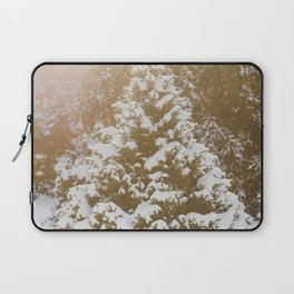 Snow Covered Laptop Sleeve