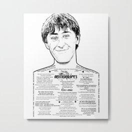 Alright Dave Metal Print