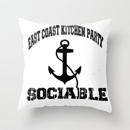 Kitchen Party Throw Pillow