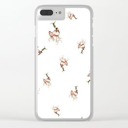 Roots, Shoots and Bulbs. Clear iPhone Case