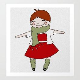 Joy and Good Cheer Art Print